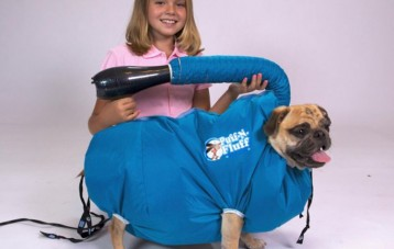 Puff-N-Fluff 宠物狗洗澡吹风烘干袋
