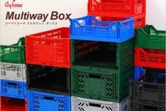 AYKASA可折叠多功能杂物衣物收纳箱