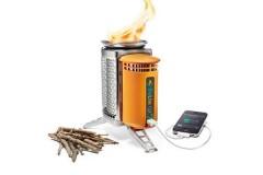 BioLite Campstove 2+便携户外火力发电柴火营地炉