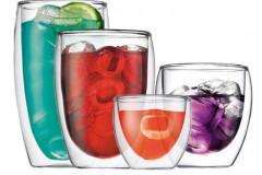 波顿BODUM Pavina系列手工双层玻璃杯