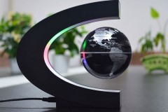 发光自转磁悬浮地球仪