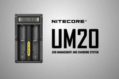 Nitecore奈特科尔UM20双槽USB接口电池充电器