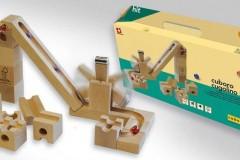 Cuboro弹珠轨道积木玩具