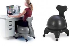 Gaiam瑜伽平衡球座椅