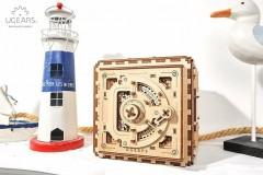 乌格 Ugears 木质机械传动密码箱