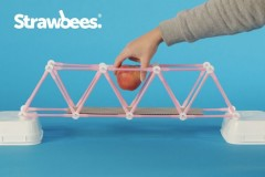 吸多必Strawbees吸管拼搭益智STEM玩具