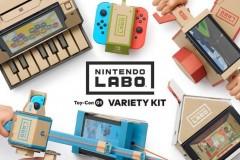 任天堂瓦楞纸板模型游戏机 Nintendo Labo