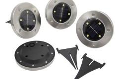 嵌入式太阳能LED草坪灯