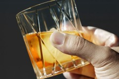 Orrefors CITY城市系列水晶威士忌酒杯