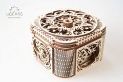 乌格 UGEARS 首饰盒机械传动木质模型