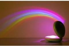 贝壳彩虹投影灯