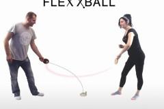 FLEXXBALL弹力软轴乒乓球练球器