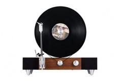 格莱美Gramovox竖立式黑胶唱片机蓝牙音响