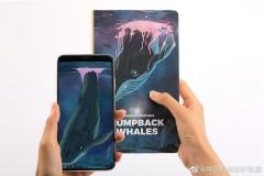 AstroReality奇妙生物系列座头鲸AR笔记本