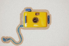 SNAP研究所复古傻瓜胶片相机