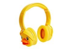 哈科Hikii 小黄鸭B.Duck头戴式蓝牙耳机