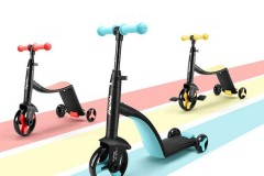 纳豆Nadle三合一儿童滑板车