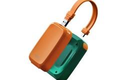 一粒Eary自带插头数据线的充电宝