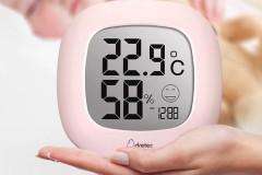 多利科Dretec电子温湿度计