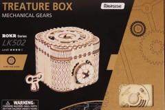 若态ROBOTIME若客ROKR木质拼装百宝盒
