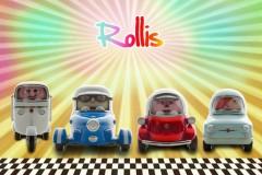 Rollis萌趣老爷车模型