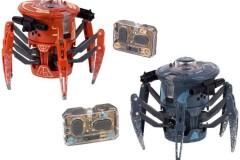 赫宝hebug对战蜘蛛机器人玩具