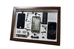 手机拆解装裱相框