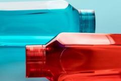 本因Boii六角透明塑料随行杯