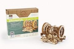 乌格 UGears STEM教育系列木质机械传动拼装模型