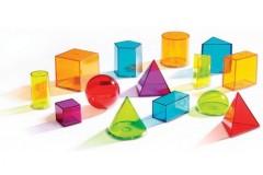 Learning Resources View-Thru几何透光立体组合积木