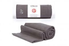 青蛙Manduka eQua绒面纤维瑜伽手巾
