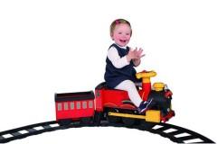 如雷Rollplay儿童电动轨道小火车