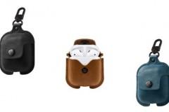 Twelve South AirSnap苹果Airpods Pro充电盒牛皮防丢保护套