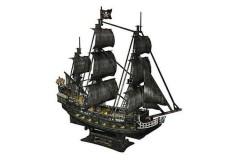 乐立方CubicFun 3D立体拼图安妮女王号海盗船模型