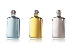 钛度 TAIC 纯钛彩色小酒壶