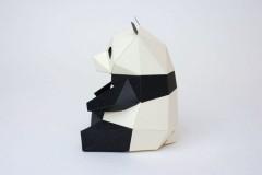 Bog Craft KAKUKAKU 趣味动物折纸拼图模型