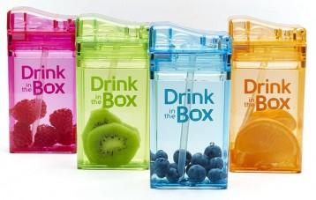 Drink in the Box 儿童防摔防漏吸管果汁杯