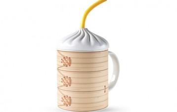 小笼包马克杯