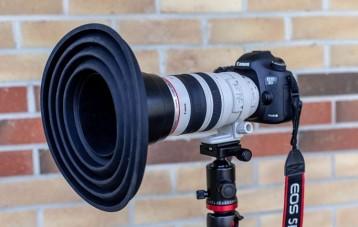 Ultimate Lens Hood 防玻璃反光相机镜头硅胶遮光罩