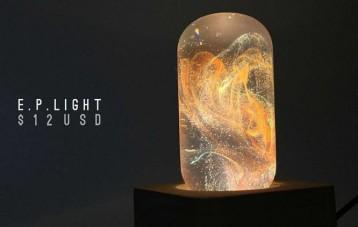 EP Light色彩渲染树脂装饰灯