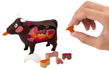 MEGA HOUSE立体3D益智解剖拼图模型