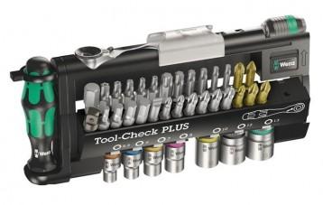 维拉WERA Tool-check PLUS迷你棘轮扳手套筒组合套装
