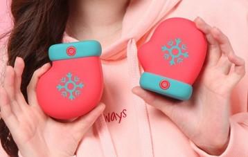 知物趣所圣诞小手套暖手宝