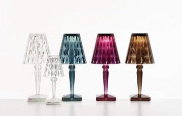 Kartell水晶钻石台灯