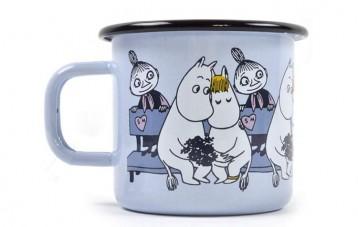 Muurla姆明Moomin搪瓷杯