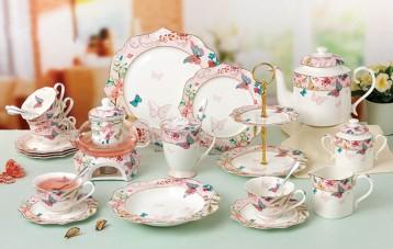 法罗芮诗Floris欧式陶瓷茶具套装