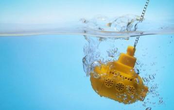 Ototo黄色潜水艇滤茶器