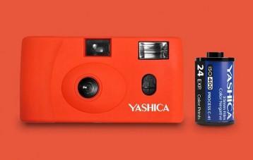 雅西卡YASHICA MF-1胶卷傻瓜相机