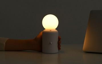 IDMIX小麦D6无线充电夜灯