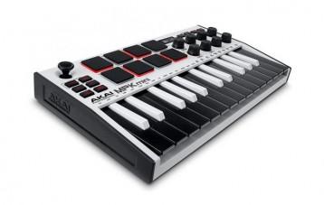 雅家AKAI MPK MINI MIDI便携键盘控制器